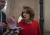Pelosi clashes with fellow Dems in closed-door debate on impeachment