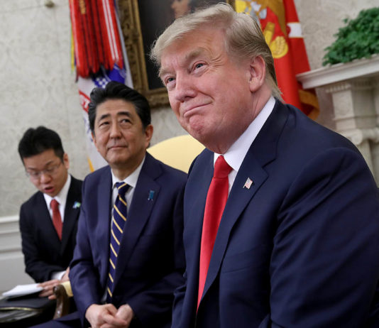'Absolutely Unprecedented': Why Japan's Leader Tries So Hard to Court Trump