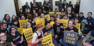 Labor anger over Green New Deal greets 2020 contenders in California