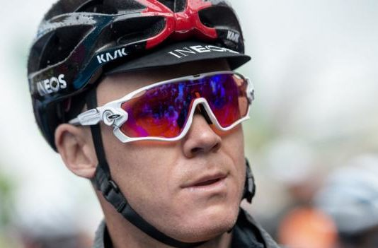 Chris Froome: Briton fractured neck in crash and faces six weeks in hospital