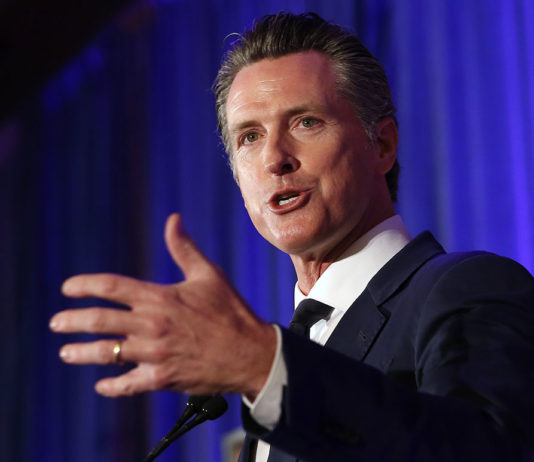California's Newsom takes aim: GOP destined for 'waste bin of history'