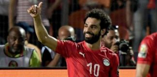 Egypt 2-0 DR Congo: Mohamed Salah helps Africa Cup of Nations hosts into last 16