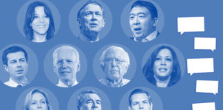 """Food fights"" and ""the power of love"": Recapping the second Democratic debate"