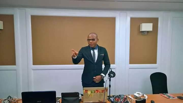 BREAKING: California Stand Still as Nnamdi Kanu Pushes For