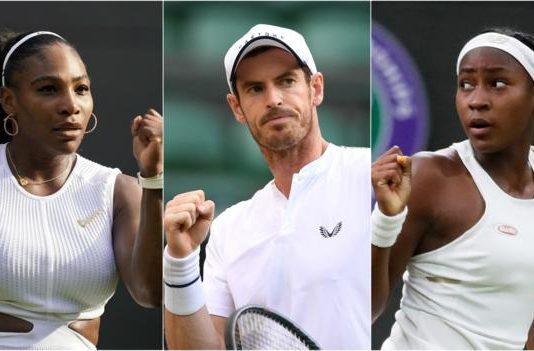 Andy Murray & Serena Williams start Wimbledon doubles & Coco Gauff on Centre Court