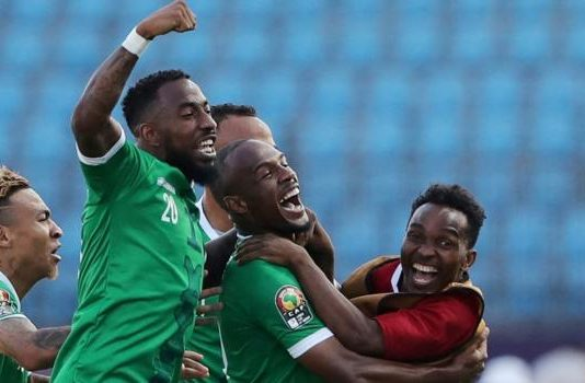 Africa Cup of Nations: Madagascar 2-2 DR Congo (Madagascar win 4-2 on pens)
