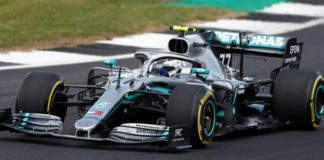 British GP: Valtteri Bottas top in second practice ahead of Lewis Hamilton