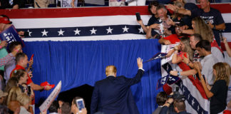 Trump's trusted playbook: Rile up a crowd, then recant