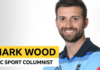 Mark Wood column: 'I drove home wearing my World Cup medal'