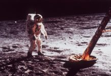 Where they were when men first walked on the moon