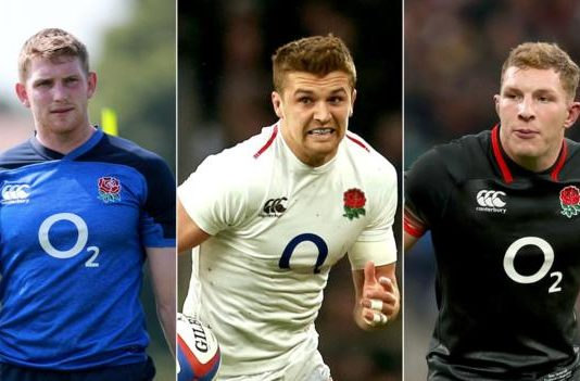 England v Wales: Henry Slade, Sam Underhill and Ruaridh McConnochie ruled out