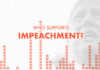 Who supports impeachment?
