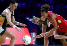 England Netball announce three-match South Africa series