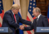 Senate tangles with Russia after Trump's overtures to Putin