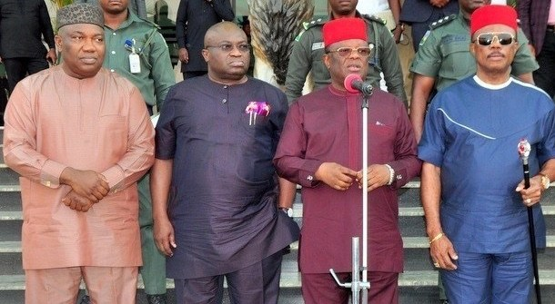 S'EAST GOVS TO NNAMDI KANU: Touch any of us, face the wrath
