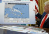 An Oval Office mystery: Who doctored the hurricane map?