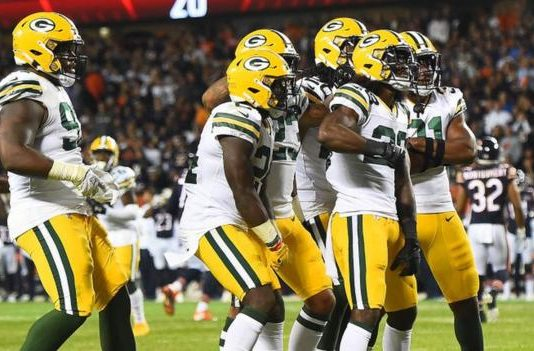 Green Bay Packers open NFL's 100th season with win over Chicago Bears