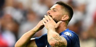 France 4-1 Albania: France win after Albania national anthem mix-up