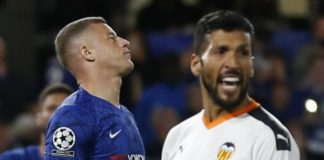 Chelsea 0-1 Valencia: Ross Barkley misses penalty after Rodrigo winner