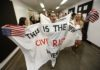 'We Shall Overcome': California anti-vaccine activists claim civil rights mantle