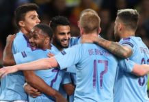 Champions League: Shakhtar Donetsk 0-3 Man City