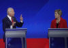 Democrats buckle in for 12-candidate, free-for-all debate