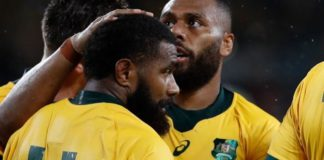 Australia 27-8 Georgia: Wallabies labour to Rugby World Cup victory