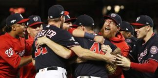 Washington Nationals beat St Louis Cardinals to reach World Series for first time