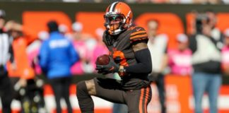 Odell Beckham Jr: Cleveland Browns receiver fined because pants did not cover knees