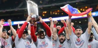 The Washington Nationals win World Series for the first time
