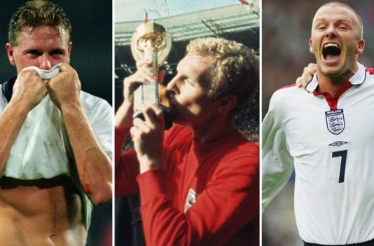 England's 1,000 games: Your England all-time XI revealed
