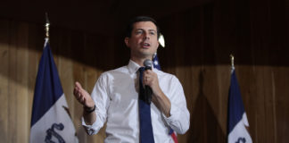 Buttigieg busts out to first place in Iowa