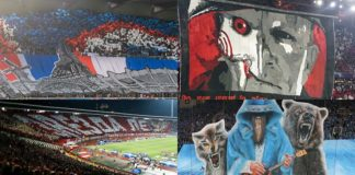 Some of the best tifos from European football this year