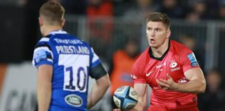 Premiership: Bath 12-25 Saracens – Owen Farrell leads champions to victory