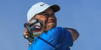 Hero World Challenge: Tiger Woods in contention as Gary Woodland leads