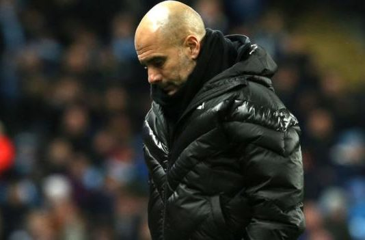 Pep Guardiola: 'Man City might not be able to compete with top teams'