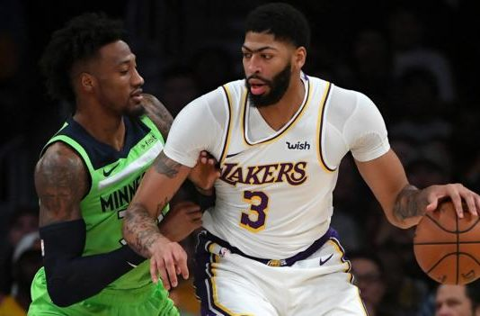 LA Lakers: Anthony Davis scores 50 points in 142-125 victory over Minnesota Timberwolves