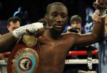 Terence Crawford knocks out Egidijus Kavaliauskas to retain WBO welterweight title