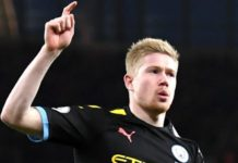 Arsenal 0-3 Manchester City: Kevin de Bruyne scores twice as City outclass Arsenal