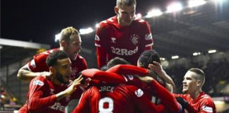 Hibernian 0-3 Rangers: Visitors move within two points of leaders Celtic