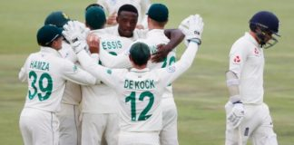 South Africa v England: Tourists lose first Test by 107 runs