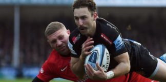 Premiership: Exeter Chiefs beat Saracens 14-7 with superb defensive display