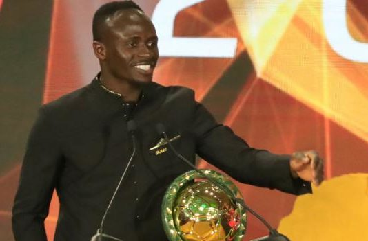 Sadio Mane: Liverpool and Senegal forward named Caf African Player of the Year