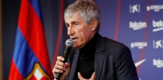 Quique Setien: Barcelona boss couldn't have imagined new job 'in wildest dreams'