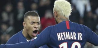 Monaco 1-4 Paris Saint-Germain: Kylian Mbappe scores twice to send his side eight points clear