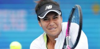 Heather Watson reaches Hobart International semi-finals after rain-delayed win
