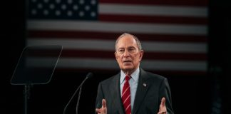 Bloomberg makes his case to Dems on Capitol Hill