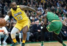 LA Lakers fall to heaviest defeat of season at Boston Celtics
