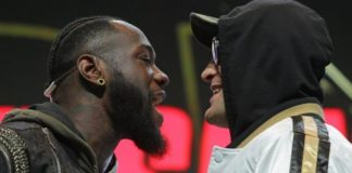 Deontay Wilder v Tyson Fury II: No face-off at weigh-in